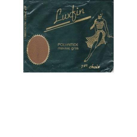 Luxfin - Bas Vintage Mousse Gros - Beige foncé - T3