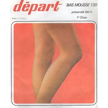 Départ - Bas Mousse vintage - Naturel - T2