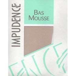Impudence - Bas mousse Beige clair - T1