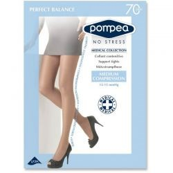 Pompea - Lot de 2 collants maternité - Naturel - T5