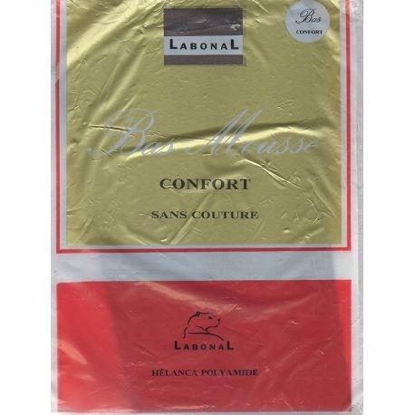 Labonal - Bas mousse vintage 'Confort' - Gris T2