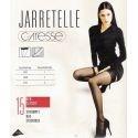 Caresse - Bas Jarretelle - 15d - Blanc - T2