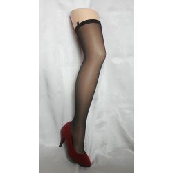 Calza Seduction - Bas séduction - Noir - T2