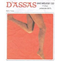 D'assas - Bas mousse vintage - 20d - Gris - T1