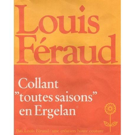 Louis Ferraud - Collant mousse vintage - Maya - T1