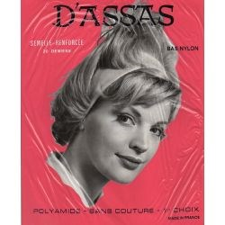 D'assas - Bas nylon vintage - 20d - Naturel - T2