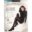 Caresse - Collant Opaque Velours - 40d - Olive - T2