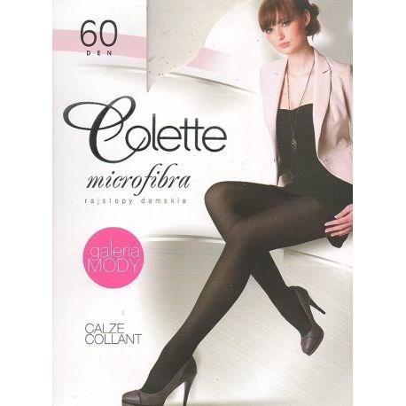 Colette - Collant opaque 60d - Moka - T4