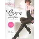 Colette - Collant opaque 60d - Moka - T3