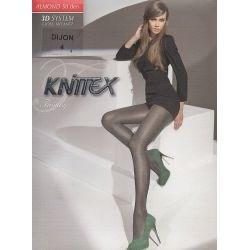 Knitex - Collant3D opaque satiné - Brun - T4