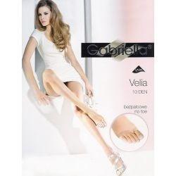 Gabriella ◌ Collant nu-pieds ◌ Velia ◌ 10d ◌ Noir ◌ T4