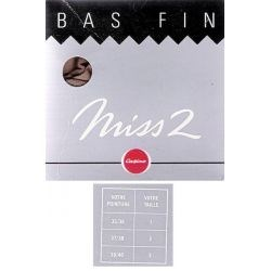 Miss2 - Casino - Bas Mousse - Beige - T1