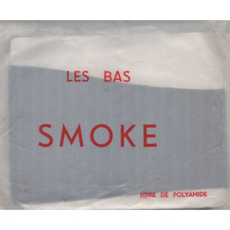 Smoke - Bas mousse vintage 20d - Brun - T1