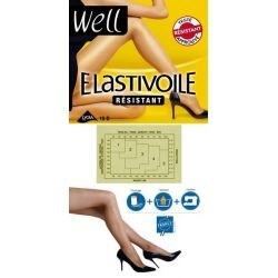 Well - Collant Elastivoile résistant - Sable - T2/3