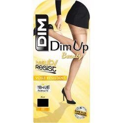 DIM Up Beauty Resist Transparent 20D - Noir - T3