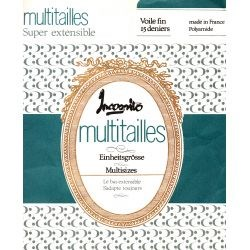 Incognito - bas vintage multitaille - Naturel - T2