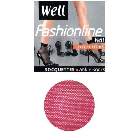 Well - Socquettes Résille - Pink Chic - TU