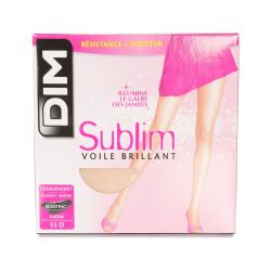 Dim - Collant Sublim Voile brillant 15d - T1&3