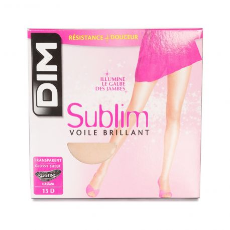 Dim - Collant Sublim Voile brillant 15d - Bois - T1