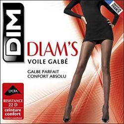 im - Collant Diam's Voile galbé - Noix - T3