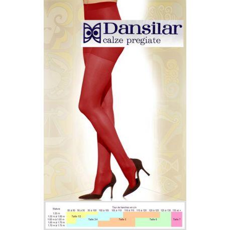 Dansilar - Collant Voile 15d - Rubino - T1