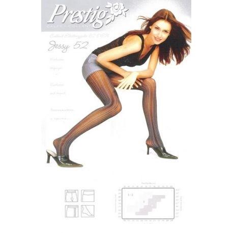 Prestige - Collant fantaisie Jessy52 - Noir - T3
