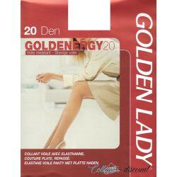 Golden Lady - Collant Gelenergy - 20d - Noir - T4