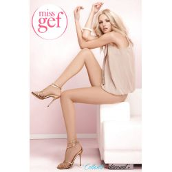 Miss Gef - Collant Mitoufle 16 - T4 - Naturel