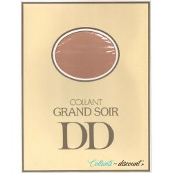 "Doré Doré - Collant vintage ""Grand Soir"" - Naturel - T2"