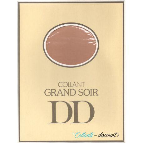 """Doré Doré - Collant vintage """"Grand Soir"""" - Naturel - T2"""