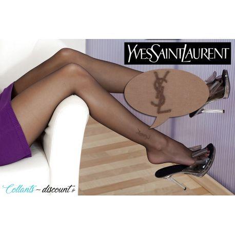 Yves Saint-Laurent - Collant voile stretch fantaisie - Beige - T1