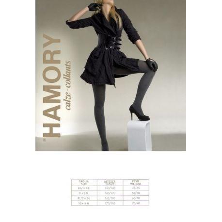 Hamory - Collant coton light - 60d - Chocolat - T3