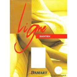 Damart - Collant ligne maintien 40d - Marron - T3