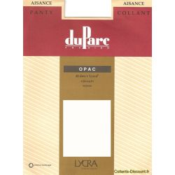 DuParc - Collant opaque Aisance - Anthracite - T1
