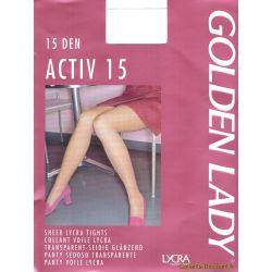 Golden Lady - Collant Activ15 - Daim - T1