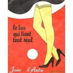 Jane D'Antin - Bas auto vintage - Naturel - T2