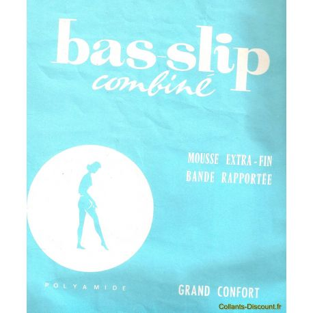 Combiné - Bas slip - Collant vintage - Naturel - T1