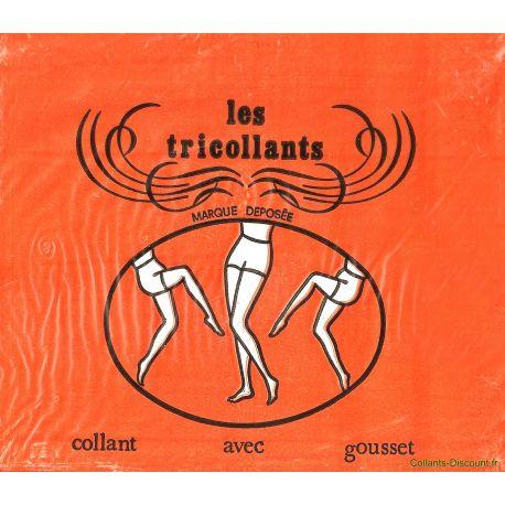 Les tricollants- Collants vintage - Vison - T6