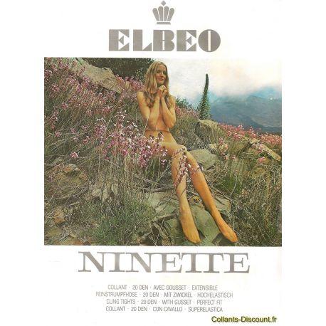 Elbeo - Collant Ninette Vintage - Marron - T1