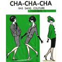 Cha-Cha-Cha Bas nylon vintage - Naturel - T1