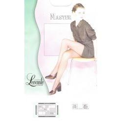 Levante - Collant Master - Voile Lycra - Fumé - T1
