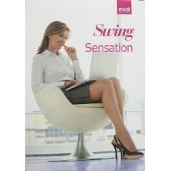 Medi Swing - Collant de contention - Noir - T5