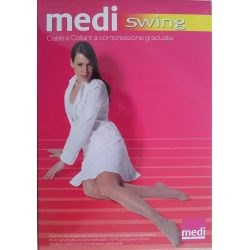 Medi Swing - Collant de contention - Beige - T5