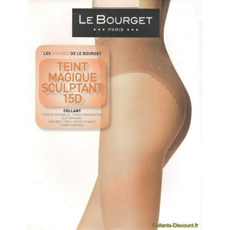 Le Bourget - Collant Teint Magique Sculptant - 15d - Bronze - T1