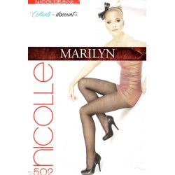 Marilyn - Collant mode - Nicolle - 20d - Sable - T2