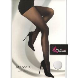 Livia Corsetti Fashion - Collant Marcela opaque 40d - Noir - T4à6
