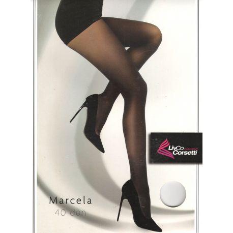 Livia Corsetti Fashion - Collant Marcela opaque 40d - Noir - T4à6