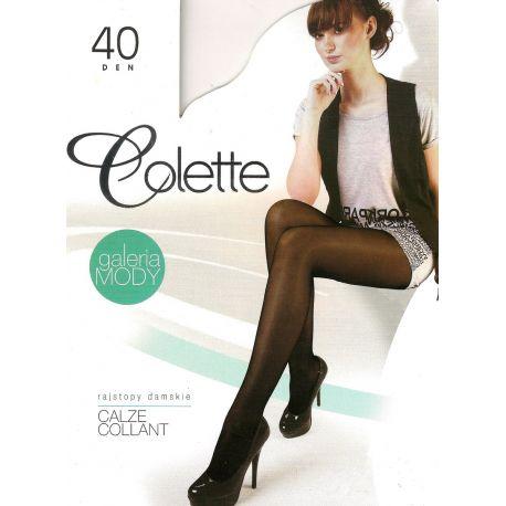 Colette - Collant 40d - Noir - T2