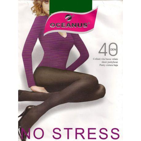 Oceanus - Collant No Stress - 40d - Vert - T5