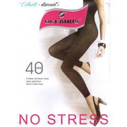 Oceanus - Legging 40d - Rose Saumon - T4